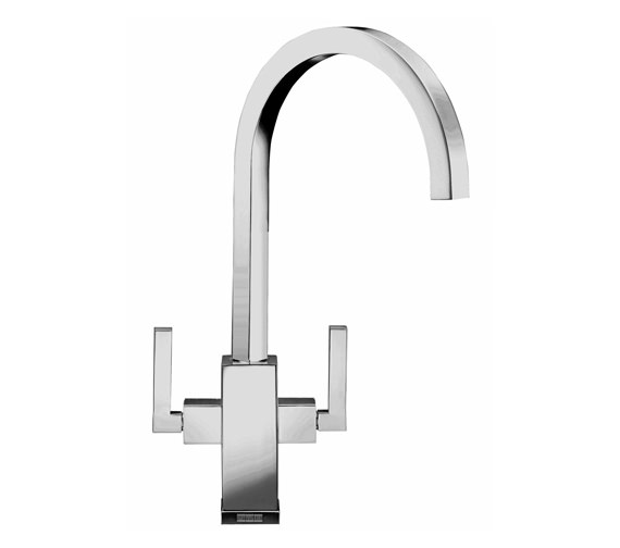 Franke Planar Kitchen Sink Mixer Tap Chrome - 115.0049.999 Image