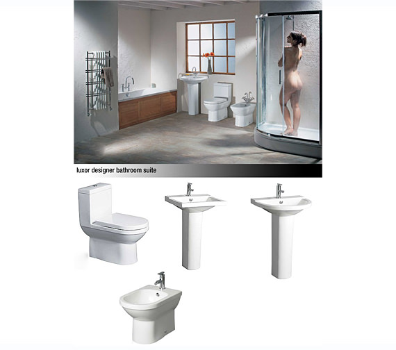 Lauren luxor designer shower bath suites for Luxor baths