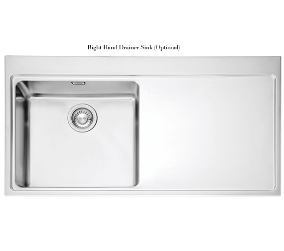 Image 8 of Franke Mythos Slim-Top DP MMX 211 Stainless Steel Kitchen Sink And Tap