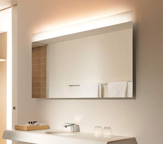 Duravit Onto Mirror With Lighting 40 x 440mm - OT 7279 Image