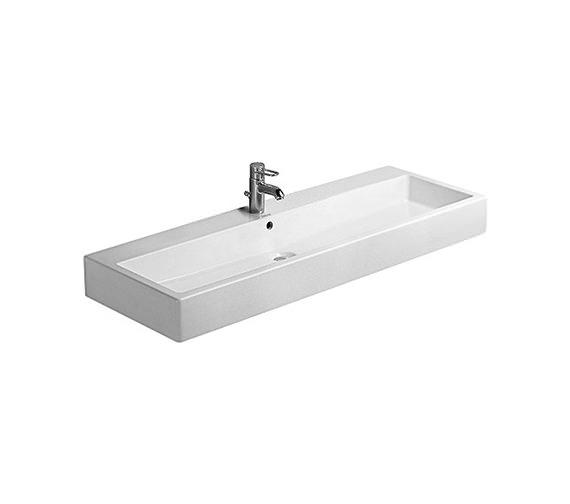 Duravit Vero White 1200 x 470mm 1 Tap Hole Basin - 0454120000 Image