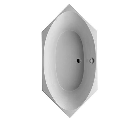 Duravit 2 x 3 Hexagonal Bath Tub 1900 x 900mm - 700025000000000 Image