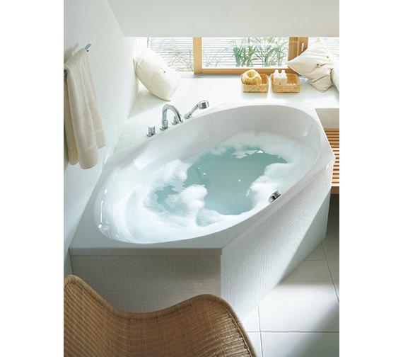 Image 4 of Duravit 2 x 3 Hexagonal Bath Tub 1900 x 900mm - 700025000000000
