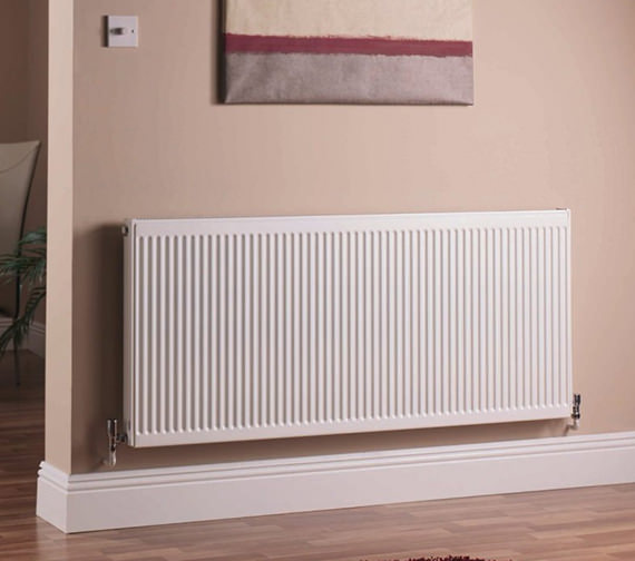 Quinn Compact Double Panel Plus Radiator 900 x 700mm 21K Image