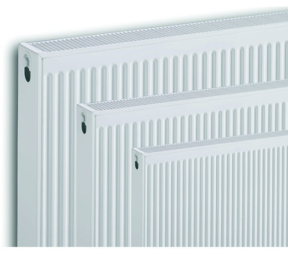 Image 5 of Quinn Compact Double Panel Convector Radiator 600 x 600 22K