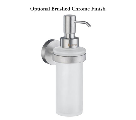 Image 3 of Smedbo Home Frosted Glass Soap Dispenser With Holder - HK369