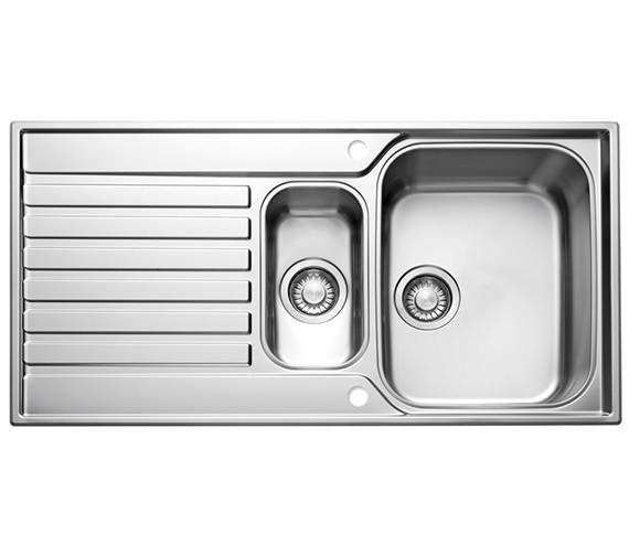 Franke Ascona ASX 651 Stainless Steel 1.5 Bowl Kitchen Inset Sink Image