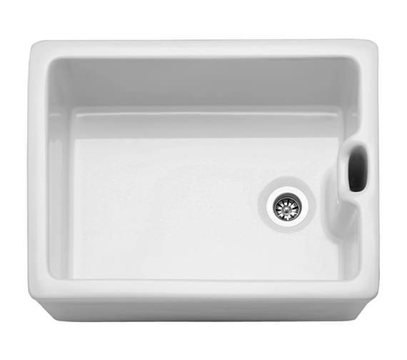 Franke Belfast BAK 710 White Ceramic 1.0 Bowl Kitchen Sink Image