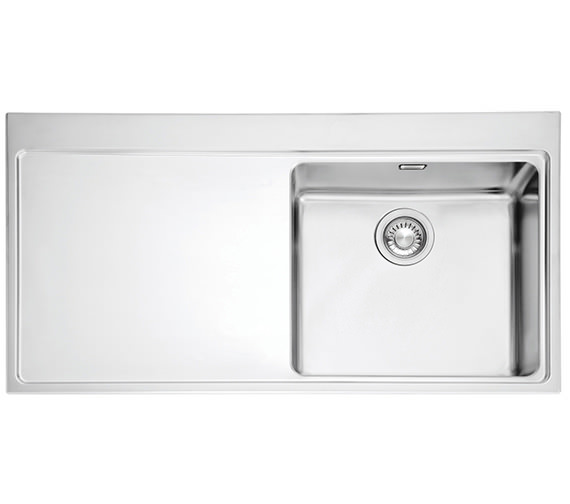 Image 3 of Franke Mythos Slim-Top DP MMX 211 Stainless Steel Kitchen Sink And Tap