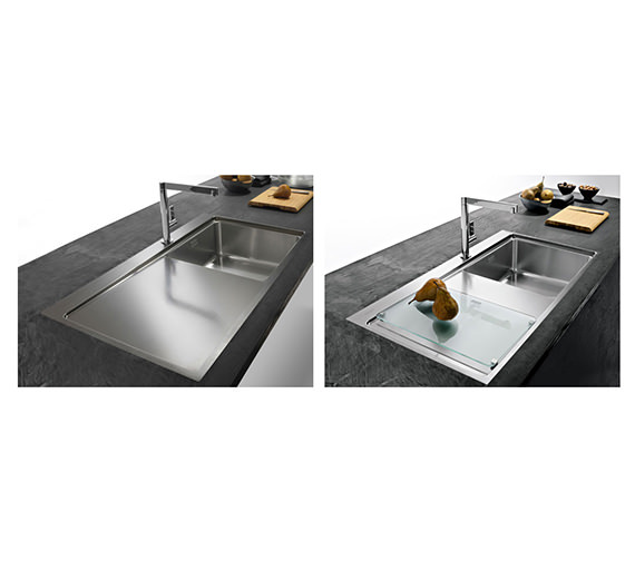 Image 10 of Franke Mythos Slim-Top DP MMX 211 Stainless Steel Kitchen Sink And Tap