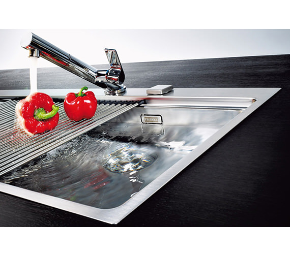 Image 9 of Franke Mythos Slim-Top DP MMX 211 Stainless Steel Kitchen Sink And Tap