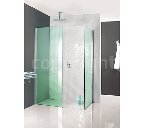 Image 3 of Simpsons Classic Mode Walk In Shower Enclosure 760 x 1950mm
