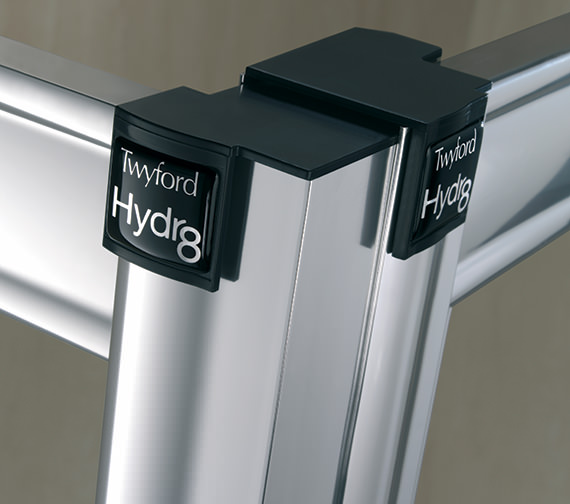 Image 6 of Twyford Hydr8 Offset Quadrant Shower Enclosure 1200 x 800mm