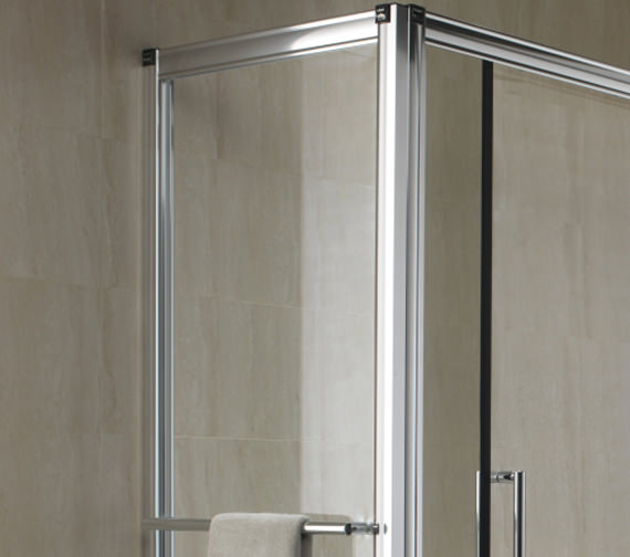 Twyford Hydr8 Shower Enclosure Side Panel 700mm - H82400CP Image