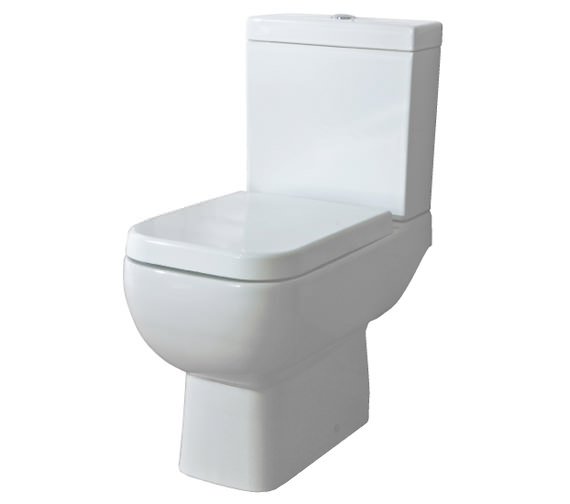 RAK Series 600 Close Coupled WC Pack With Standard Seat 600mm Image