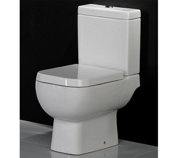 Image 3 of RAK Series 600 Close Coupled WC Pack With Standard Seat 600mm