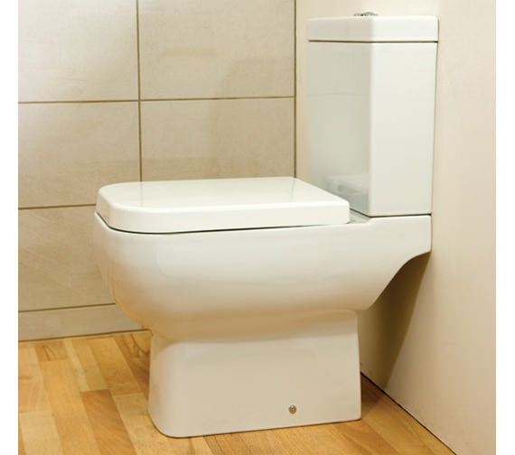 Image 4 of RAK Series 600 Close Coupled WC Pack With Standard Seat 600mm