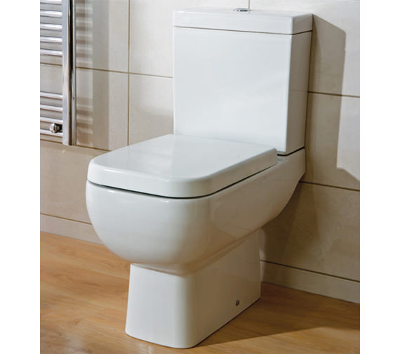 Image 5 of RAK Series 600 Close Coupled WC Pack With Standard Seat 600mm