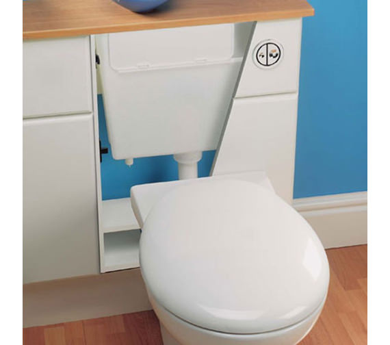 Image 3 of Geberit Pneumatic Operated Concealed Dual Flush Cistern - 109.720.00.1