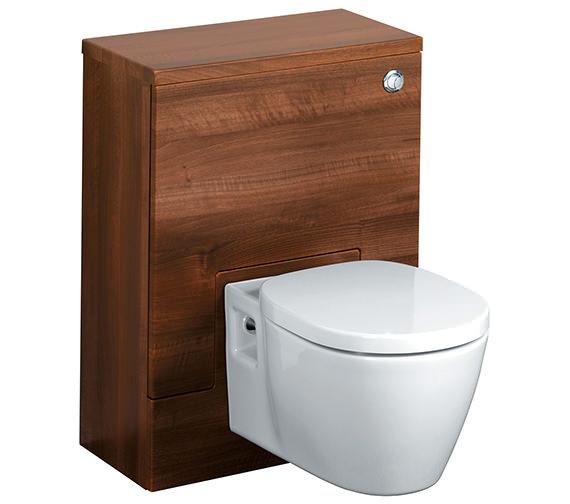 Ideal Standard Concept 500 x 300mm WC Unit American Oak - E6453SO Image