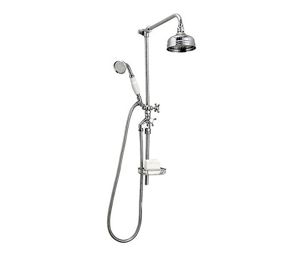 Victorian Rigid Riser 5 Inches Flowmaster Shower Head And Kit - XS61500100 Image