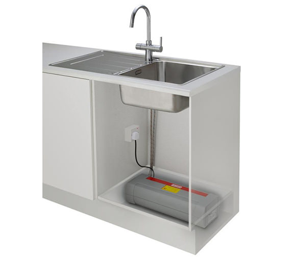 Image 9 of Franke Minerva 3-In-1 Kettle Kitchen Sink Mixer Tap Chrome