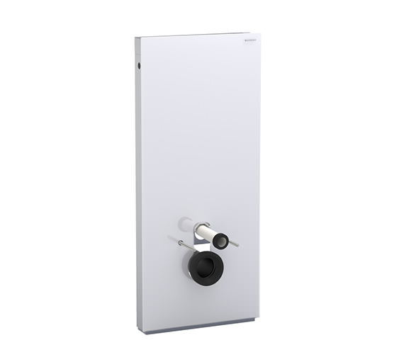 Geberit 114cm High Monolith Sanitary Module For Wall Hung WC - Umbra Glass Image