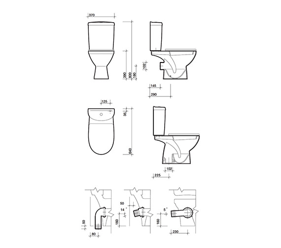 Image 3 of Twyford Refresh Cloakroom Suite