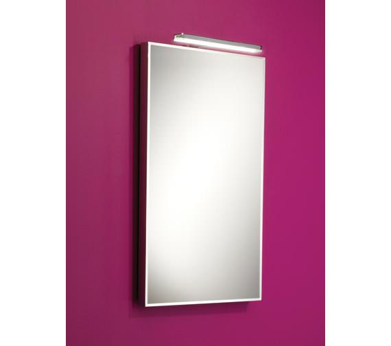 HIB Cappi Low-Energy Studio LED Illuminated Mirror 400 x 600mm Image