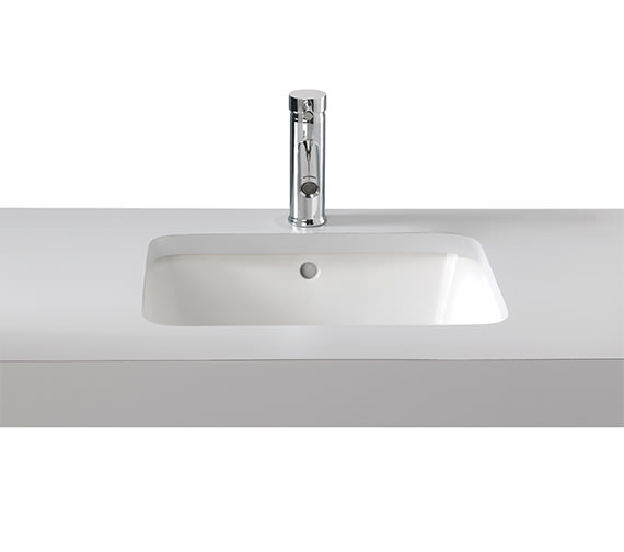 Twyford Moda Under Countertop Washbasin 460 x 410mm - MD4510WH Image