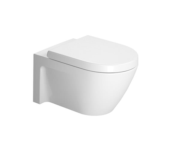 duravit starck 2 wall mounted toilet 540mm 2534090000. Black Bedroom Furniture Sets. Home Design Ideas