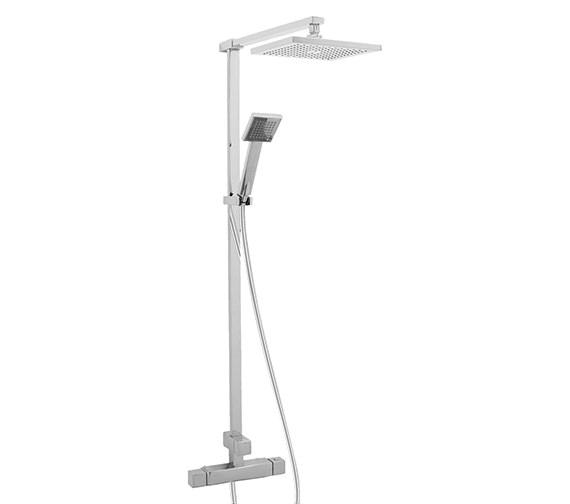 Deva Savvi Thermostatic Bar Shower With Rigid Riser Kit And Diverter Image