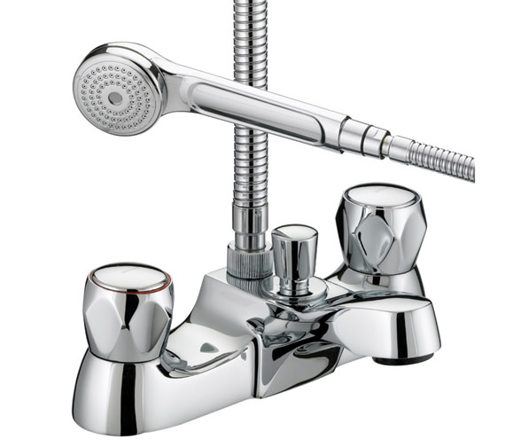 Bristan Value Club Luxury Bath Shower Mixer Tap - VAC LBSM C MT Image