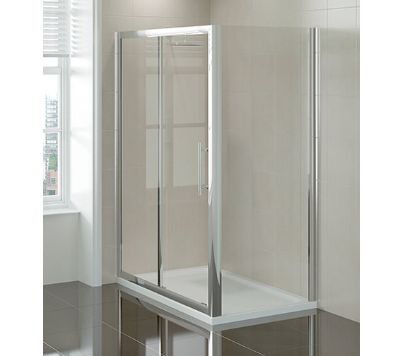 April prestige2 sliding shower door 1200mm for 1200mm shower door sliding