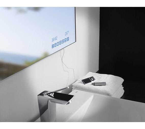 Image 3 of Roca Innova Bathroom Mirror 1000mm x 790mm - 812211000