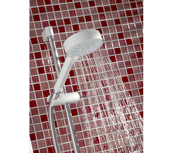 Image 4 of Mira Sport Electric Shower 10.8kW White And Chrome - 1.1746.004
