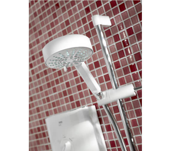 Image 5 of Mira Sport Electric Shower 10.8kW White And Chrome - 1.1746.004