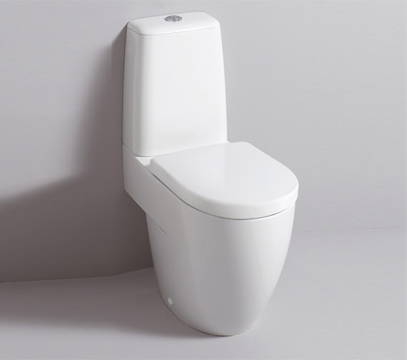 Twyford 3D 680mm Close Coupled WC Suite With Standard Seat Image