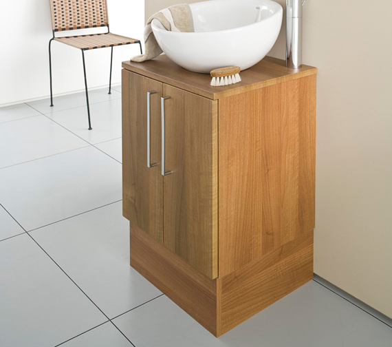 Countertop Unit : ... small vanity units roca smooth base unit for on countertop basin 470mm