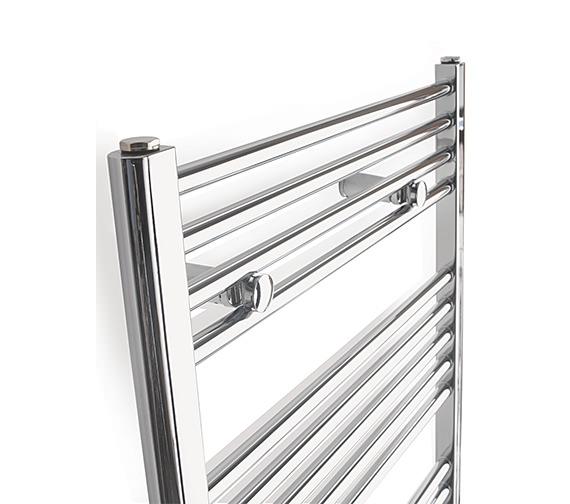 Image 2 of Tivolis Straight 500 x 800mm Chrome Towel Rail - STRCR5080